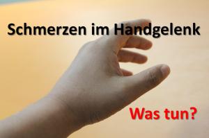 beide handgelenke tun weh